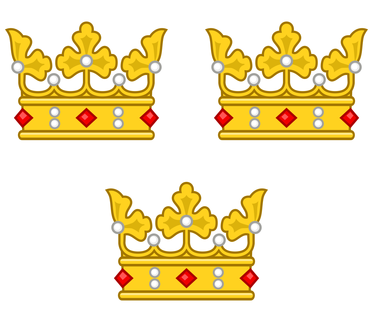Three Crowns.