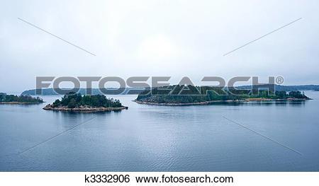 Stock Images of Islands Stockholm archipelago k3332906.