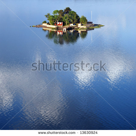 Swedish Archipelago Stock Photos, Royalty.