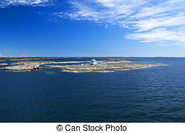 Stock Photo of Swedish archipelago in sunny day csp1985032.
