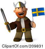 Swedish clipart.