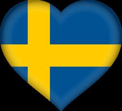 Sweden flag clipart.
