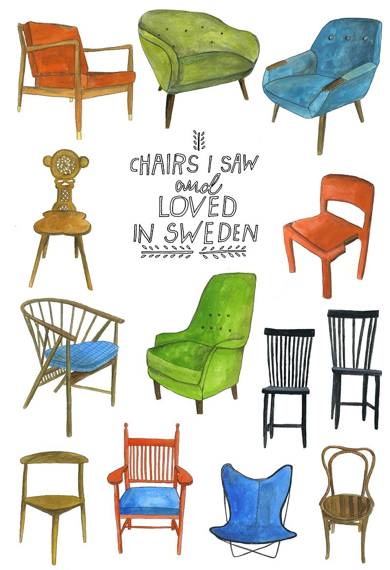 Swedish Chairs.