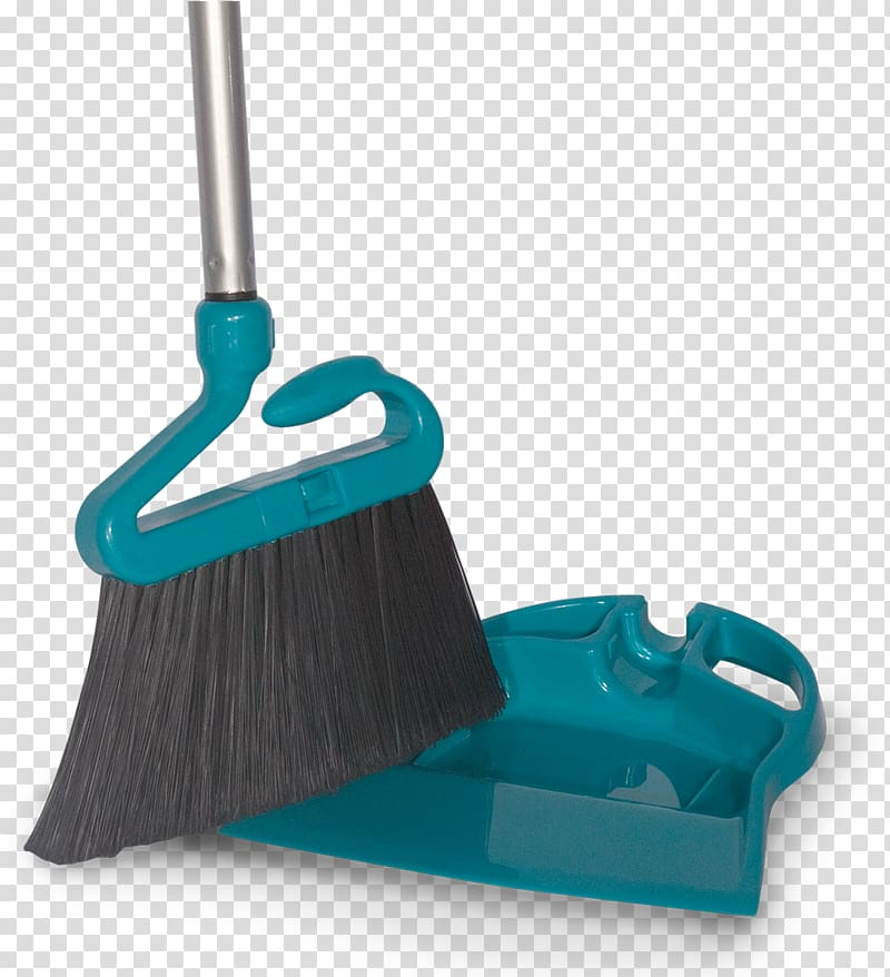 Tool Dustpan Broom Mop Handle, sweep the dust transparent.