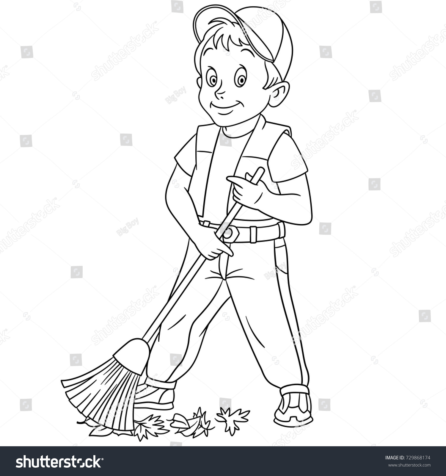 Street sweeper clipart black and white 7 » Clipart Station.