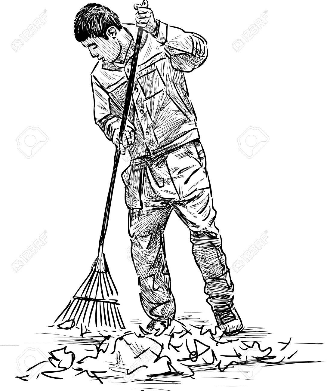 Street sweeper clipart black and white 3 » Clipart Station.