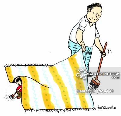 Sweeping Cartoons and Comics.