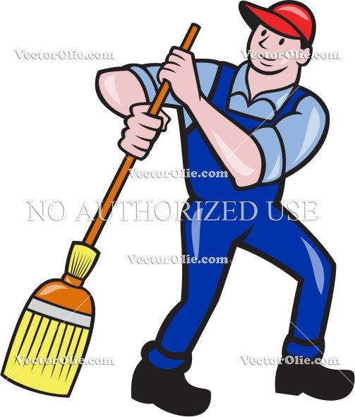 artwork, broom, cartoon, cleaner, cleaning, graphics, illustration.