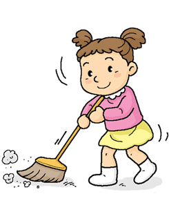 Clipart Sweep The Floor.