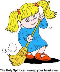 Clip Art Sweeping The Floor.