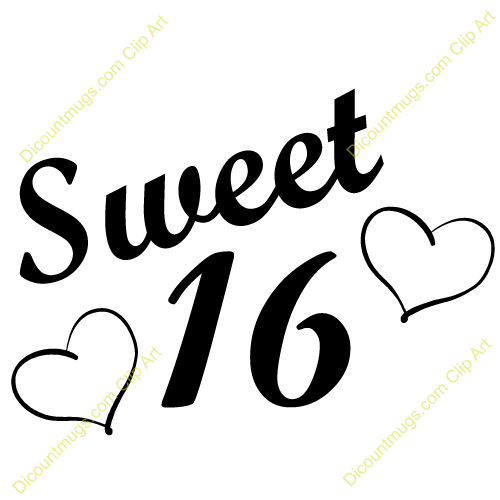 Sweet 16 Clipart Group with 79+ items.