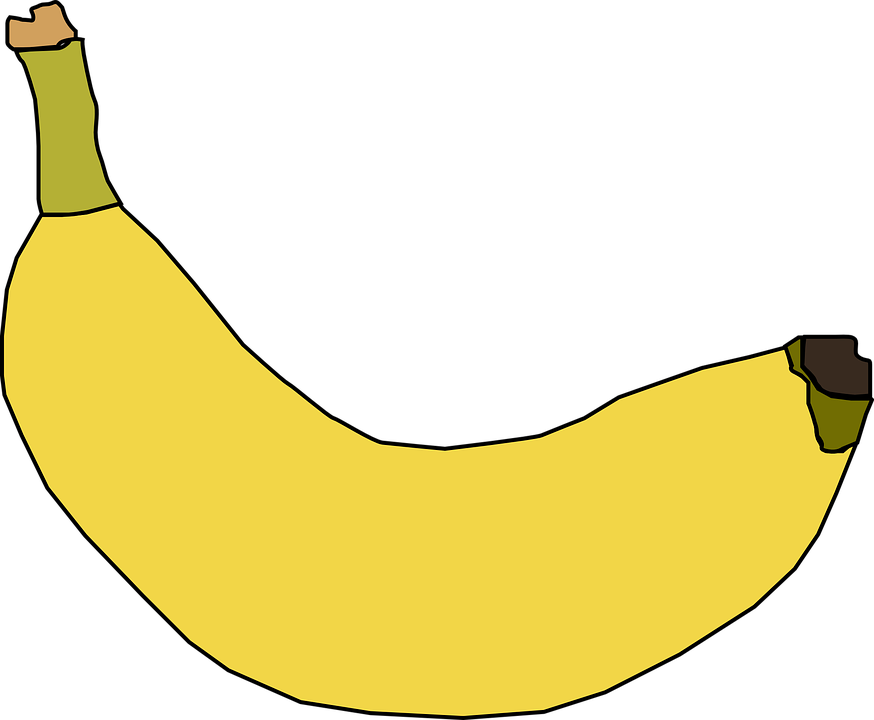 Free vector graphic: Banana, Yellow, Fruit, Ripe, Sweet.
