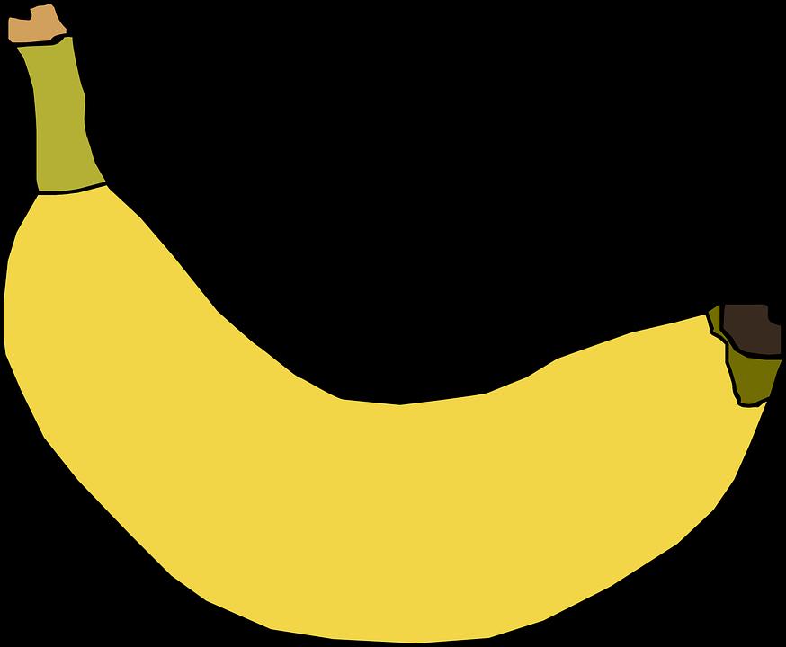 Free vector graphic: Banana, Yellow, Fruit, Ripe, Sweet.