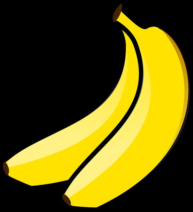 Free vector graphic: Bananas, Pair, Food, Fruit.