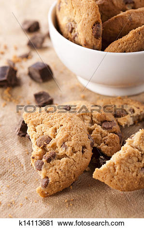 Stock Photography of Sweet biscuits k14113681.
