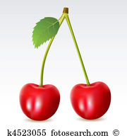 Sweet cherries Clipart Vector Graphics. 13,252 sweet cherries EPS.