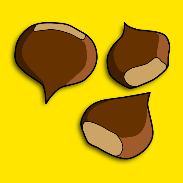 Chestnuts Clip Art at Clker.com.