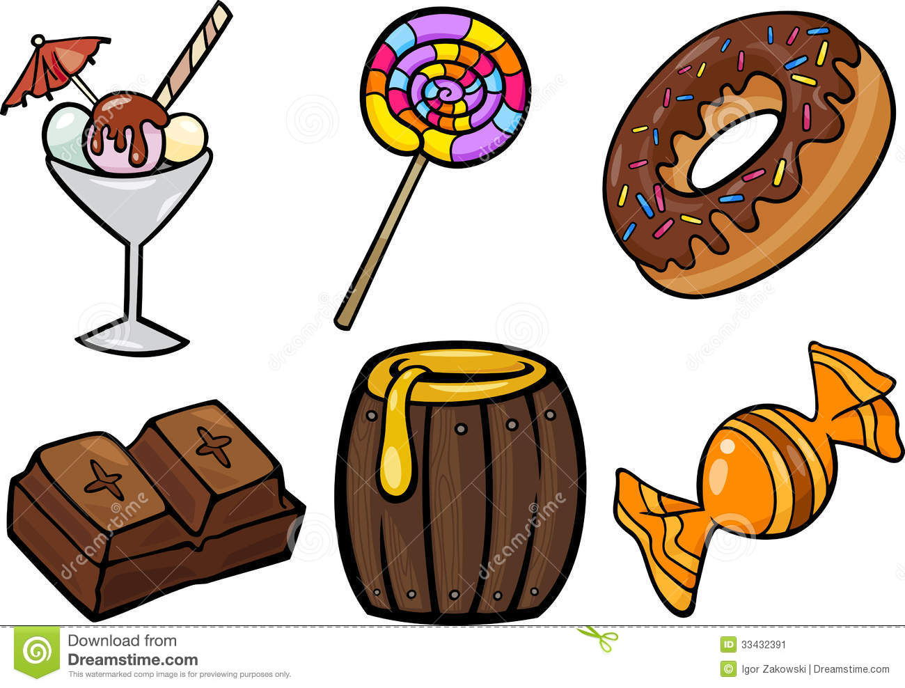 Sweets Clipart.