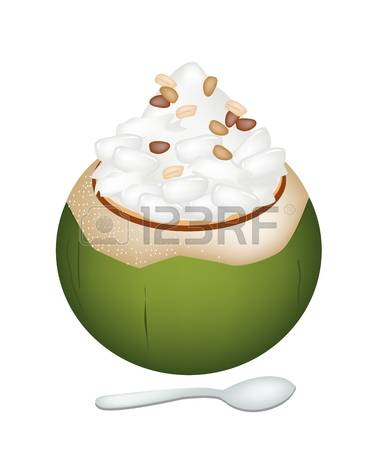 Sweet Coconut Cliparts, Stock Vector And Royalty Free Sweet.