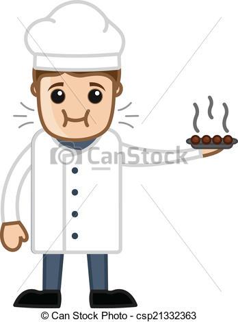 Clip Art Chef Dish Clipart.