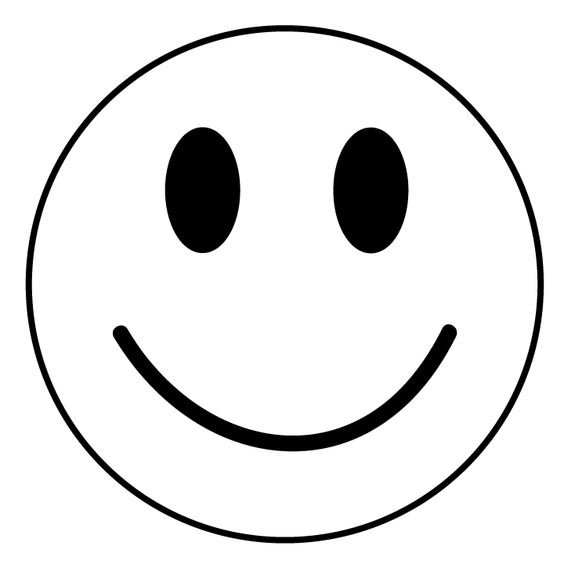 Happy sweet kids face clipart.