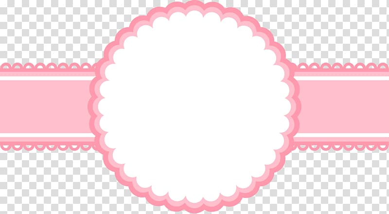 Pink ribbon illustration, Euclidean Camera, painted pink.