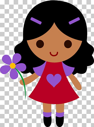 7 sweet Girl Cliparts PNG cliparts for free download.
