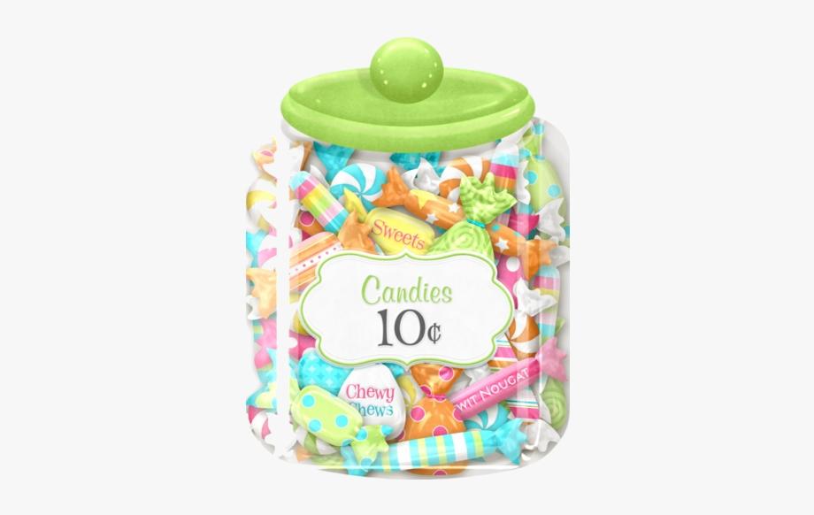 Jar Of Candy Pile Clip Art Image Transparent Png.