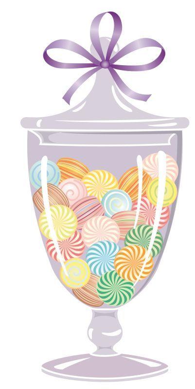 Sweet Jar Clip Art.