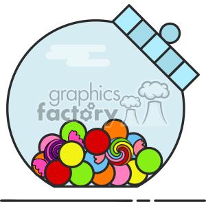 Sweet Jar vector clip art images clipart. Royalty.
