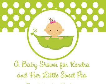 Sweet pea baby.