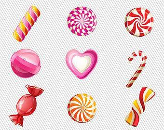 Stylish Sweet Cake Clipart. Food Illustration. Cake Illustration.