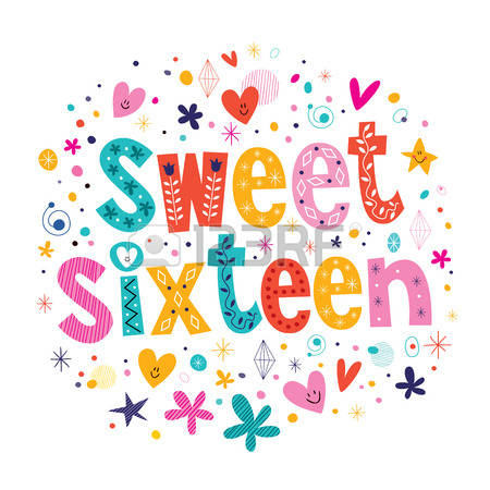 142 Sweet Sixteen Stock Vector Illustration And Royalty Free Sweet.