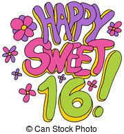 Sweet sixteen Clip Art and Stock Illustrations. 129 Sweet sixteen.