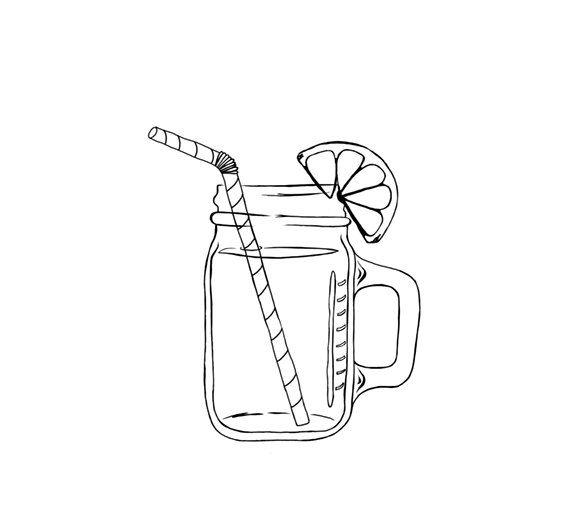 Image result for mason jar sweet tea clip art.