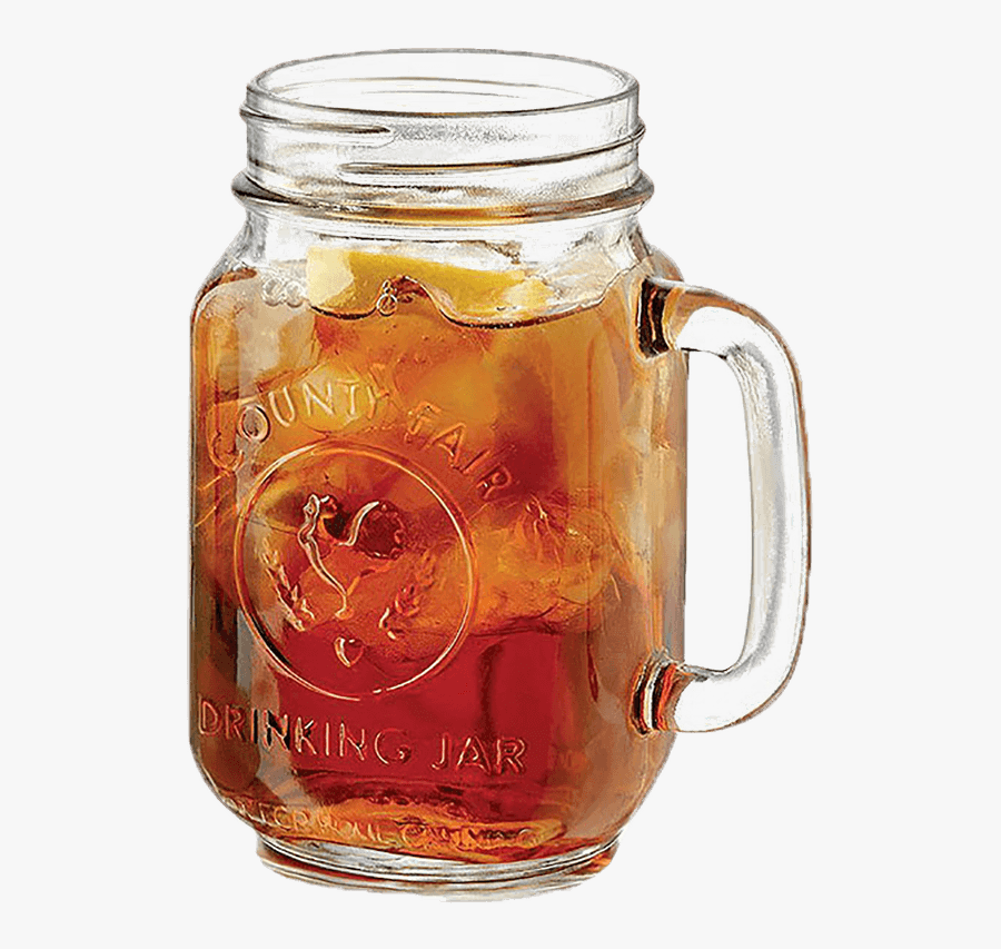 Mason Jar Sweet Tea Png , Free Transparent Clipart.
