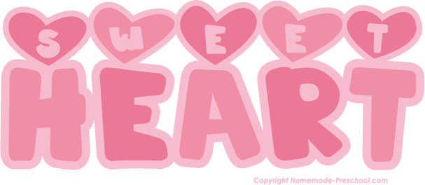 Sweetheart Free Clipart.