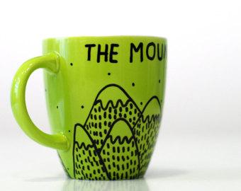 Coffee cups art.