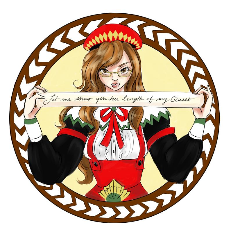 Monster Hunter Adventures: Blog logo sweetheart by Rice.