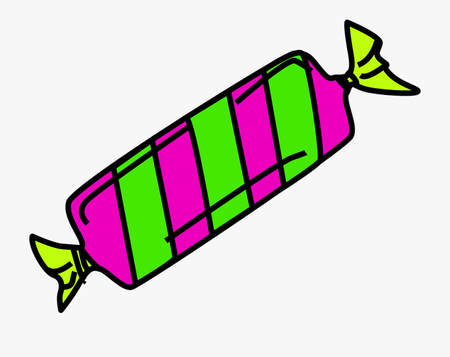 Sweets Clipart Wrapped.