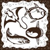 Swellfish Clip Art.