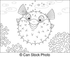 Swell fish Vector Clip Art Illustrations. 10 Swell fish clipart.