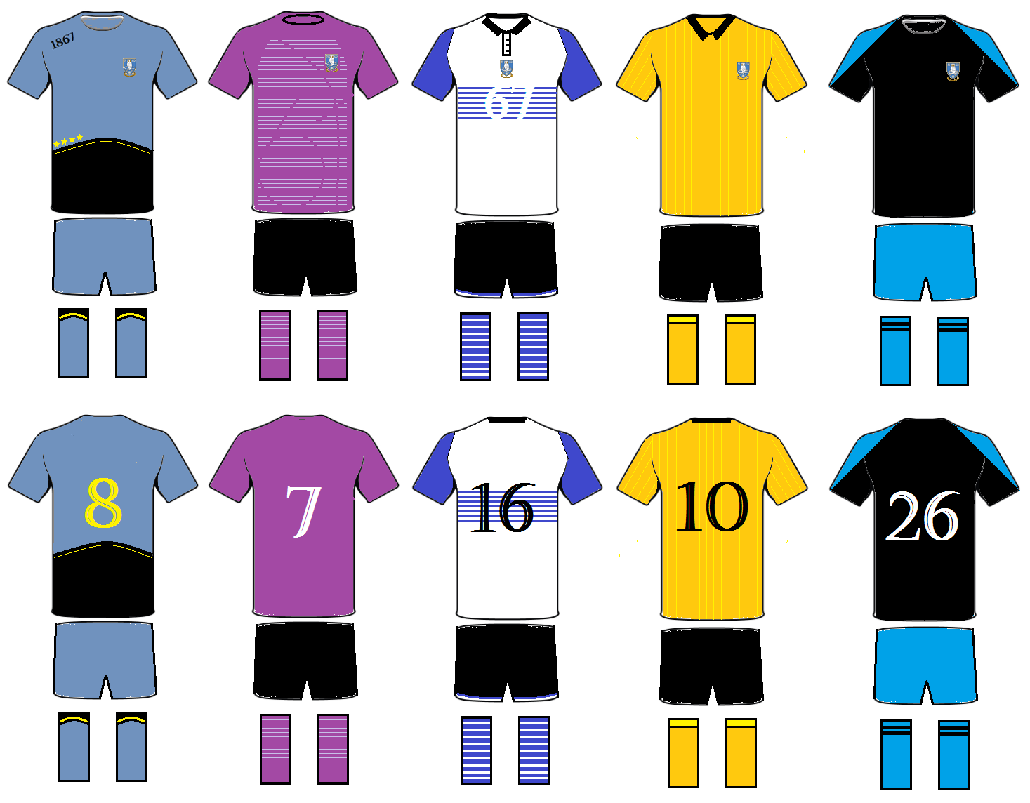 Design the 150th (3rd Strip) Shirt.