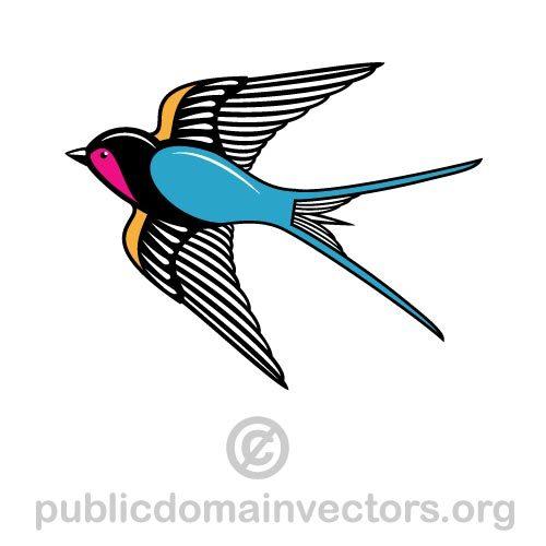 Swift Bird Clipart.