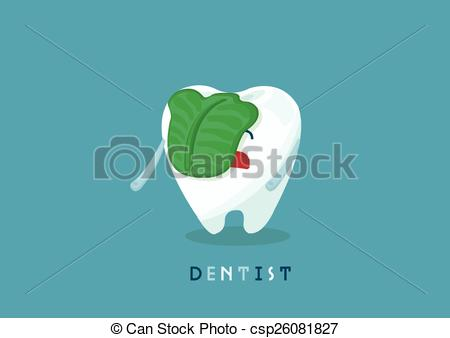 Vector Illustration of Swill tooth.