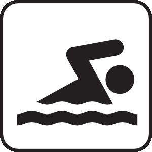 Lap Swim Clipart.