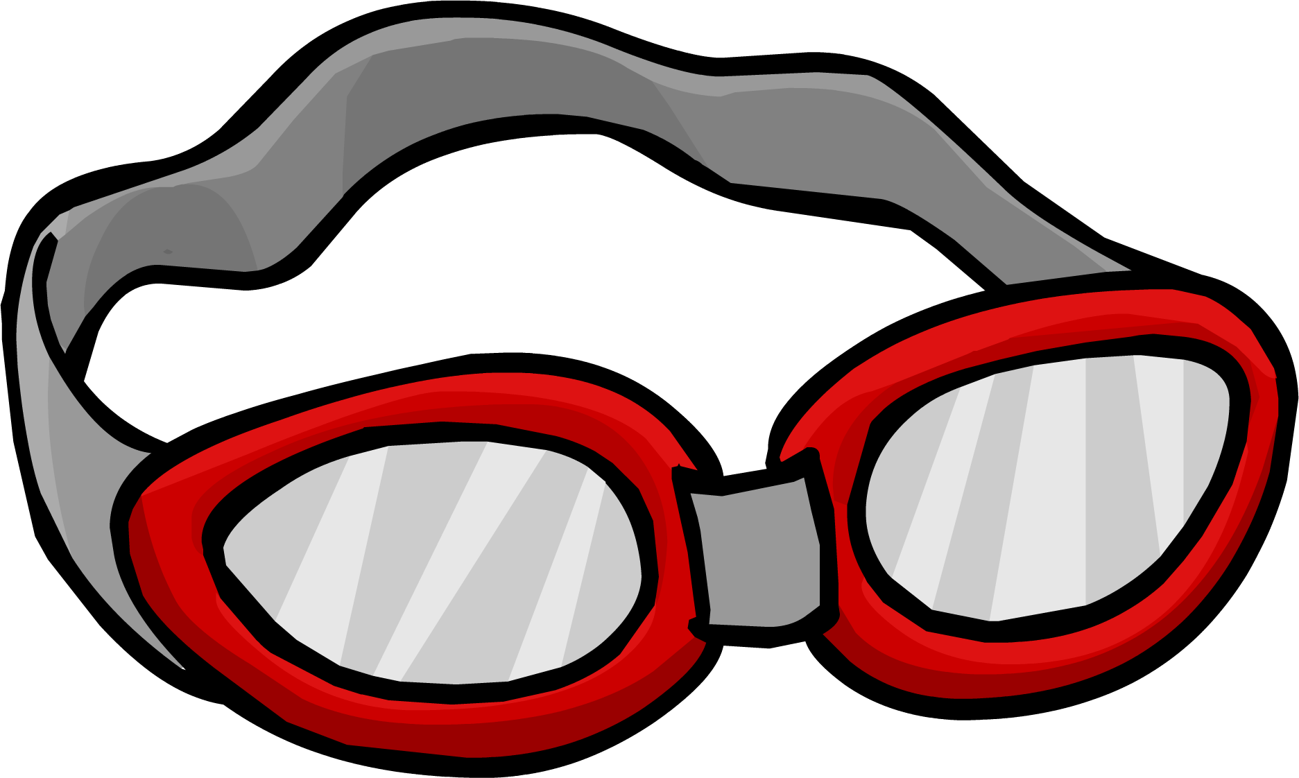 Free Swim Goggles Clipart Black And White, Download Free.