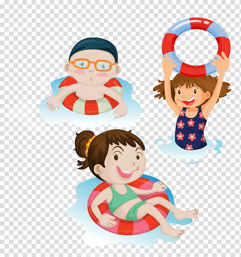 Swimming Child , Swim transparent background PNG clipart.