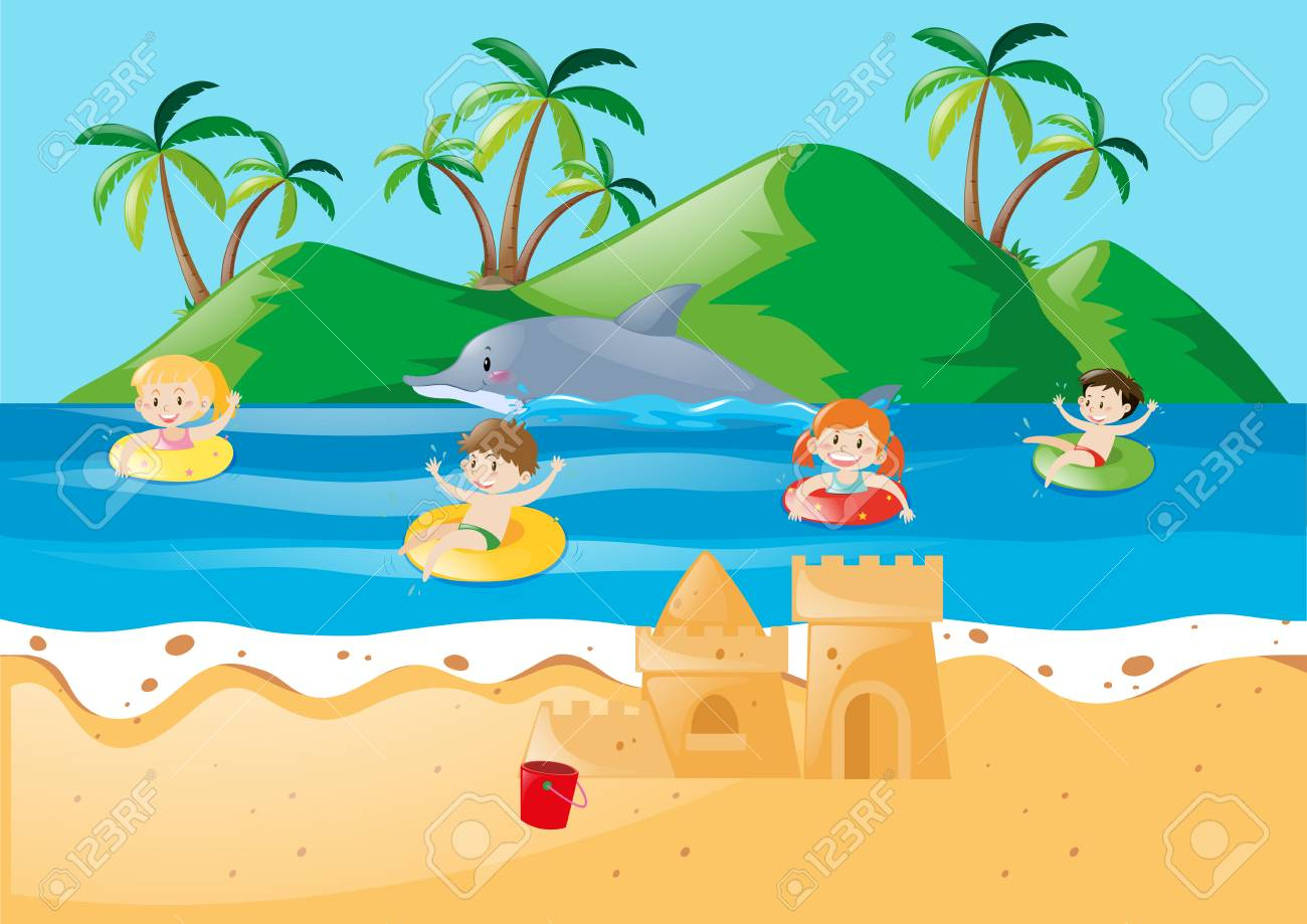 Swimming Cliparts Ocean Free Download Clip Art.