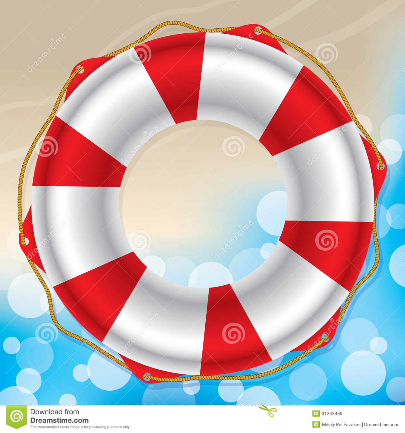 Swimming Ring Royalty Free Stock Images.